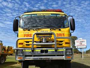 Car vs fire truck: Moonie Hwy crash