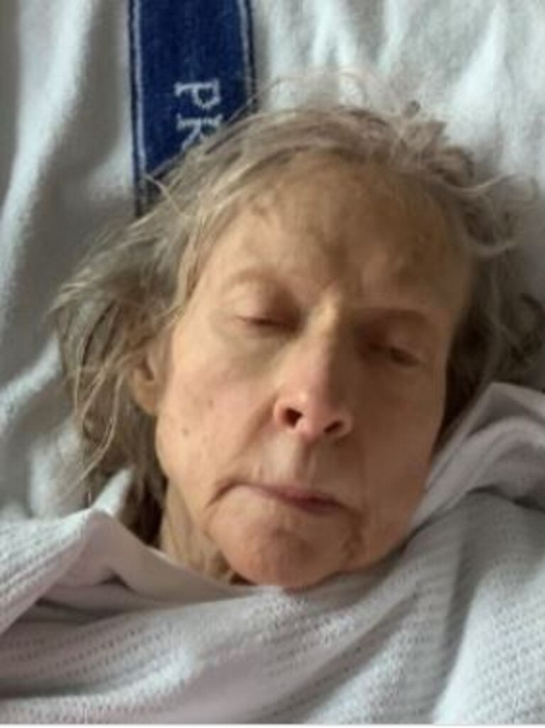 Sunshine Coast police are appealing for public assistance to help identify an elderly woman (pictured above) who was located outside the Nambour Hospital at around 12.20pm on September 6.