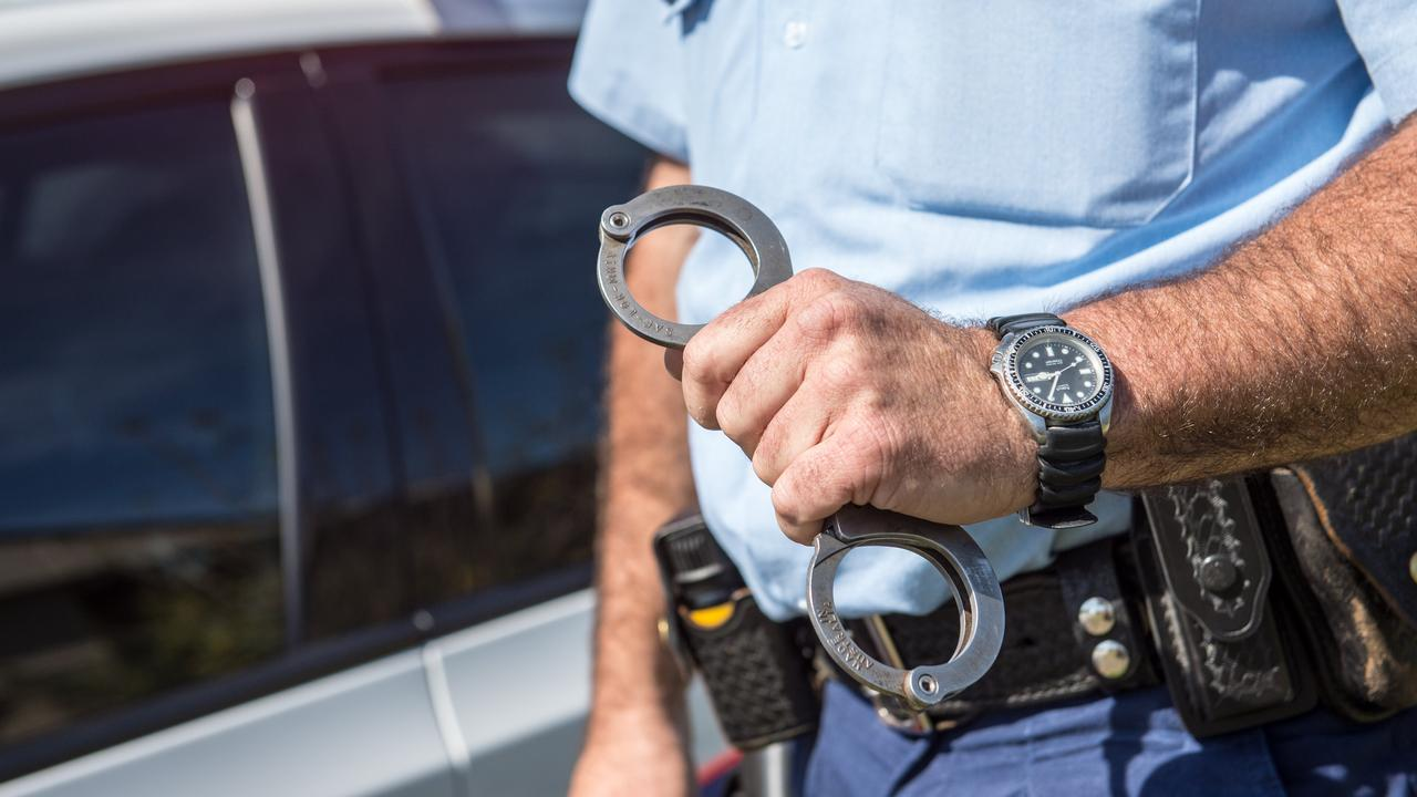 A 24-year-old man has been arrested after he allegedly evaded police in a stolen car.
