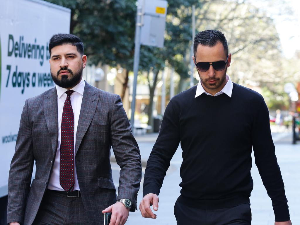 SYDNEY, AUSTRALIA - SEPTEMBER 07, 2020: Ahmed Jaghbir associate of Salim Mehajer's is charged with the murder of Kemel Barakat, arrives at the Surpreme Court in Sydney Australia, on SEPTEMBER 07 2020. Picture: NCA NewsWire / Gaye Gerard