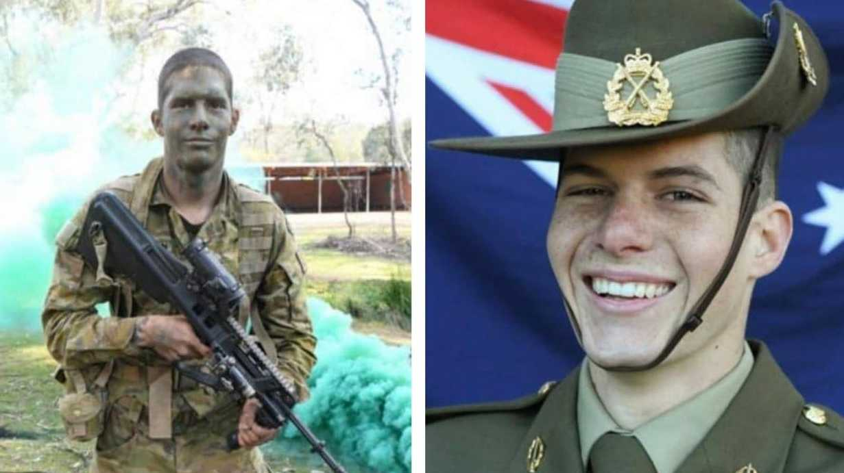 Former Lower Clarence resident Jacob Warburton has successfully graduated from the Australian Army's 12-week recruitment program.
