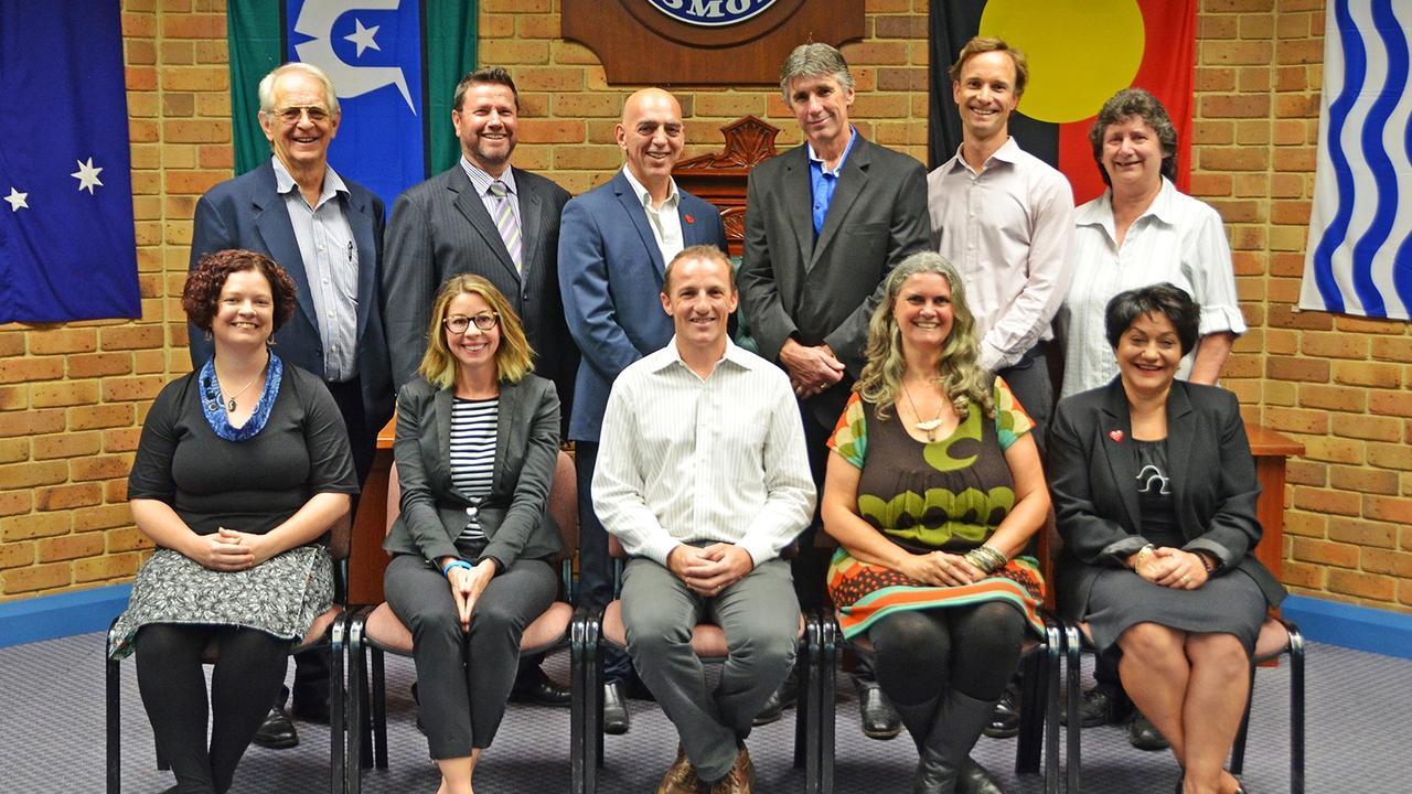 Lismore City Council's councillors. Photo: Lismore City Council