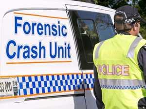 Police await blood test results after single-vehicle crash