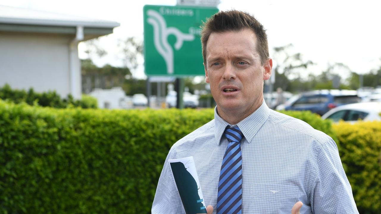 Bundaberg Regional Council's executive director of strategic projects and economic development Ben Artup.
