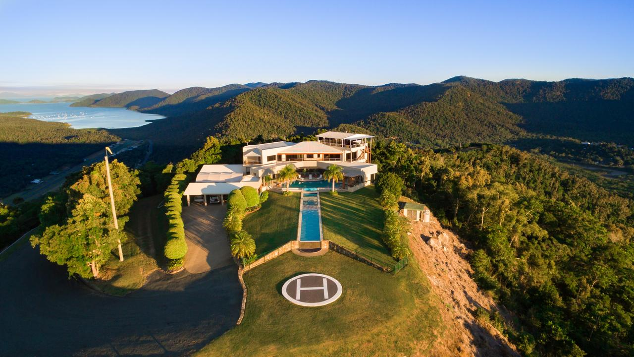Ray White Whitsunday sold Chesapeake Whitsunday, a three-storey house perched on a mountain 300 metres above Airlie Beach, to Alan Thomas Galloway, owner of the world-renowned Alabar horse breeding stud in Victoria. Picture: Supplied