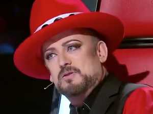 Boy George hits out over Voice 'dumping'
