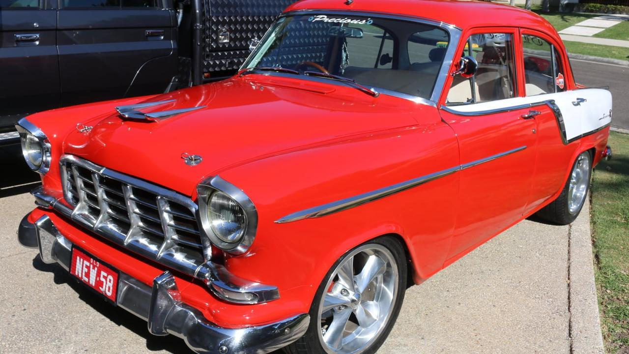 Bobby Wilson's red Holden FC was well known around Noosa.