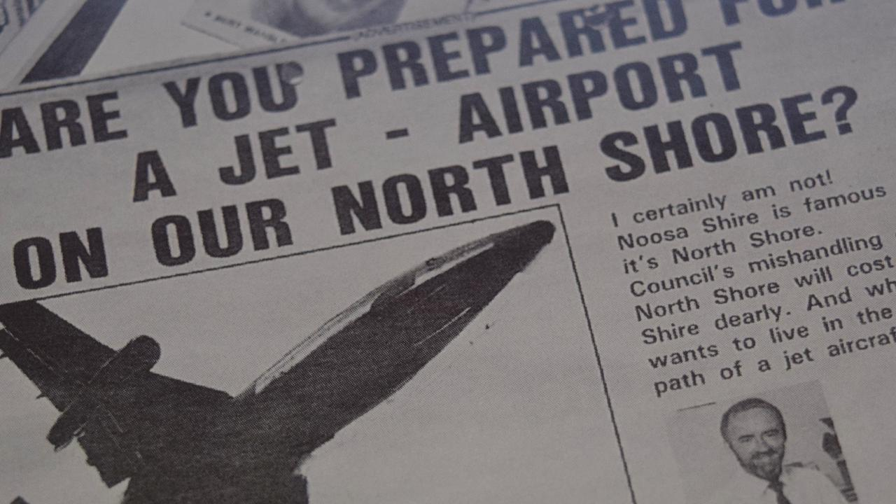 This airport project never landed on Noosa North Shore.