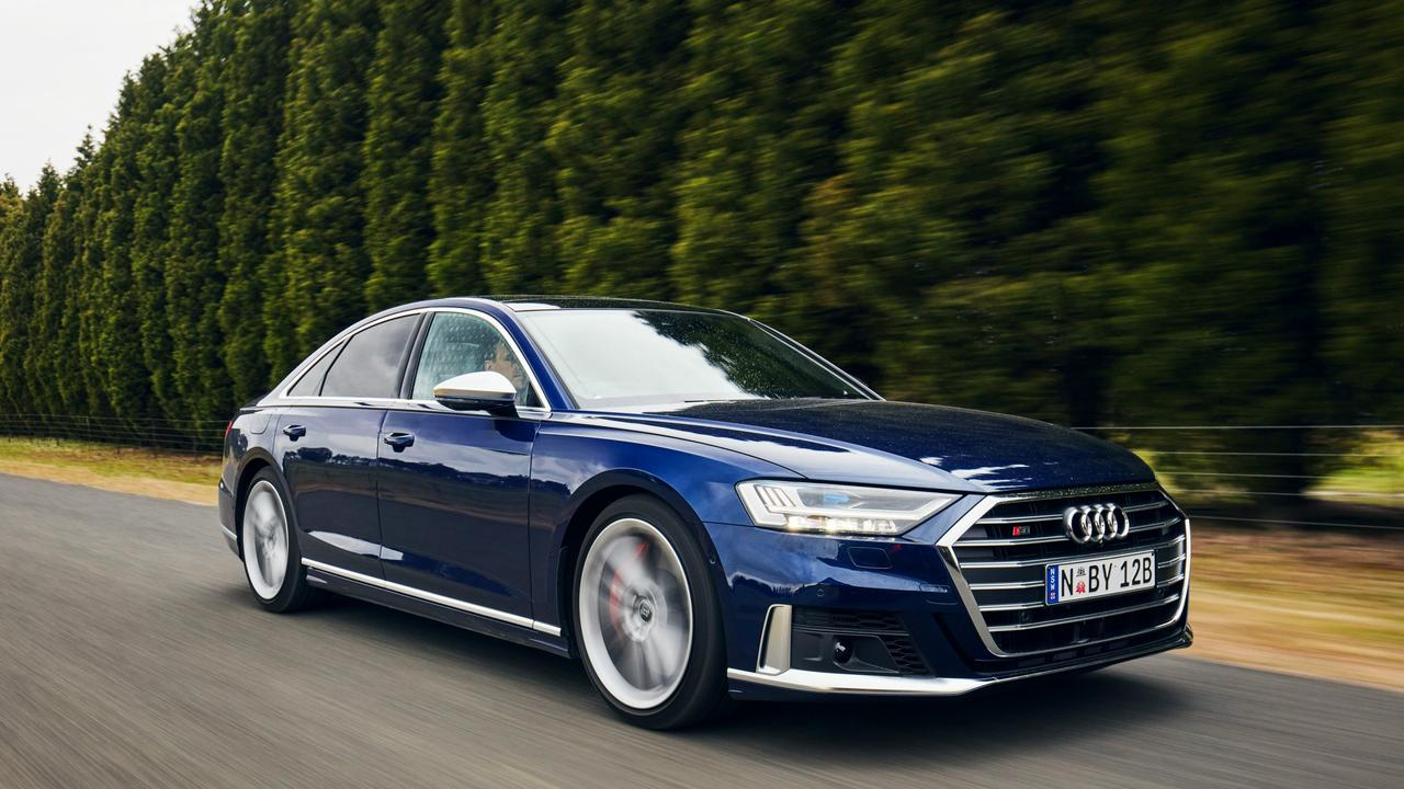Driving the Audi S8 has been known to illicit feelings of being above the law.