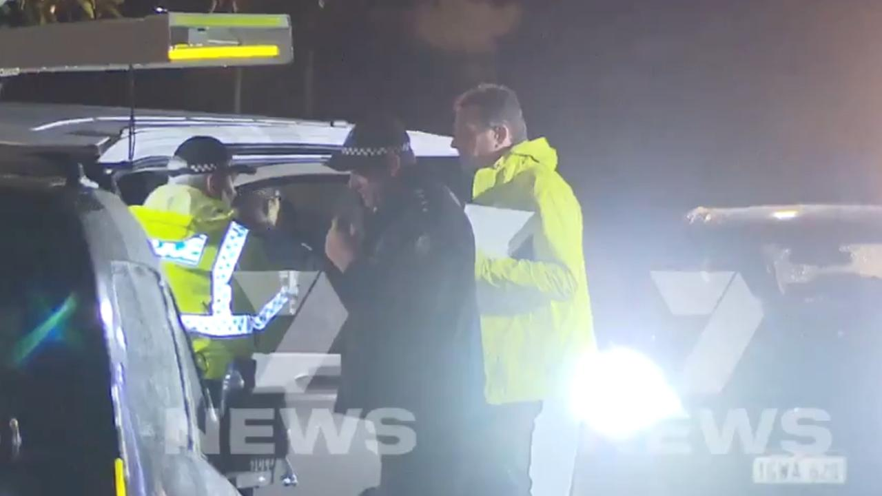 Police have set up a crime scene in the Perth suburb of Morley after an incident last night. Picture: 7 News