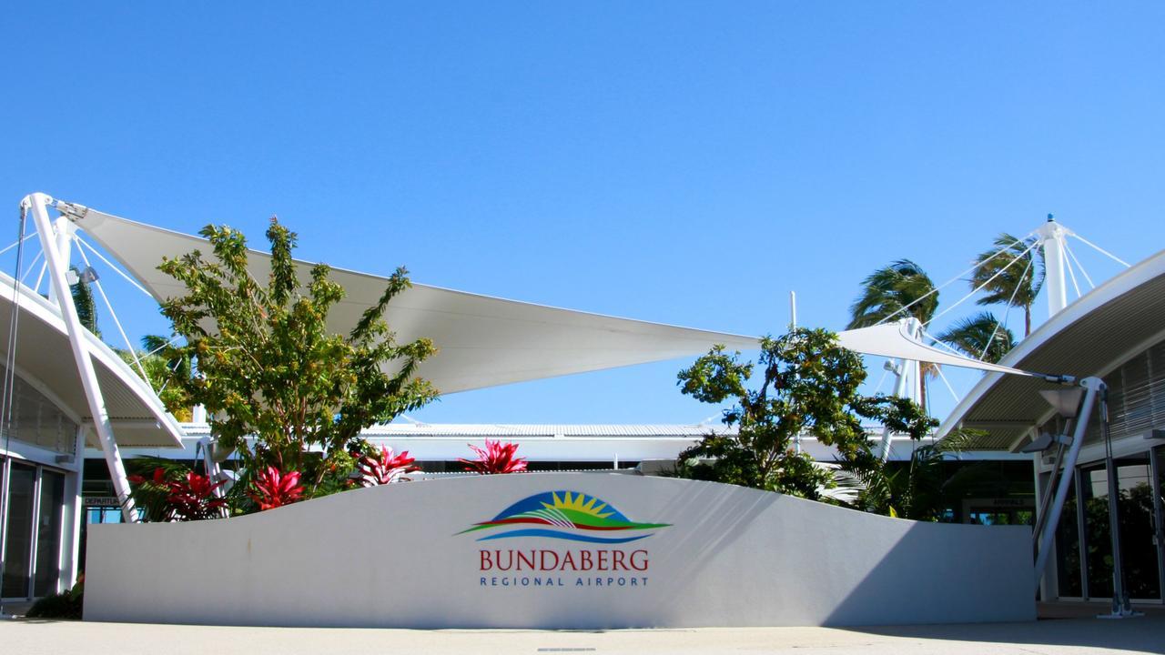 Bundaberg Airport Photo: Zach Hogg / NewsMail