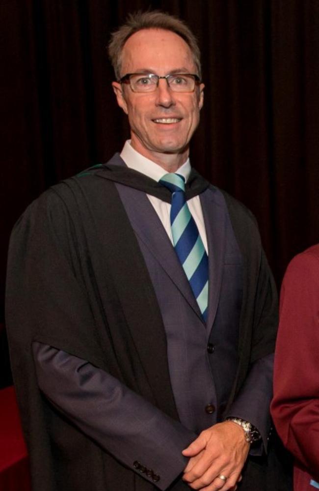 Ormiston College headmaster Brett Webster.