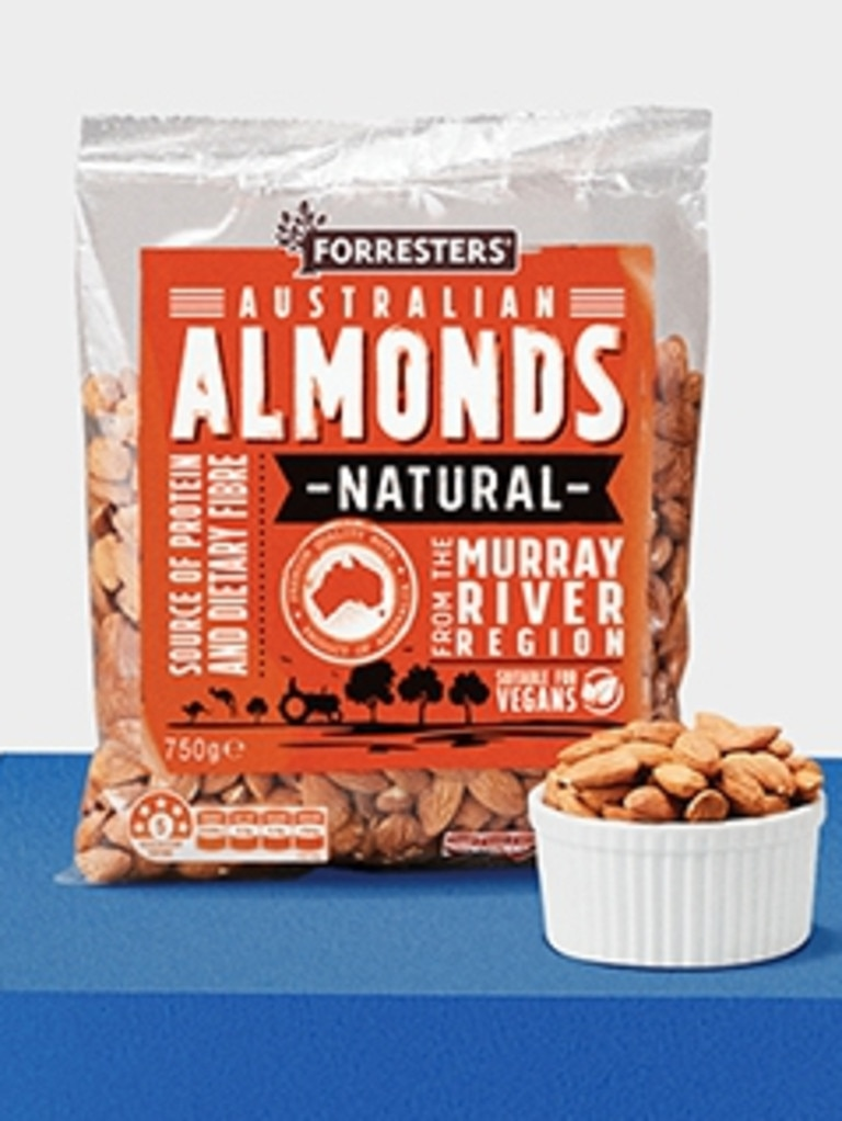 Forresters Natural Almonds 750g