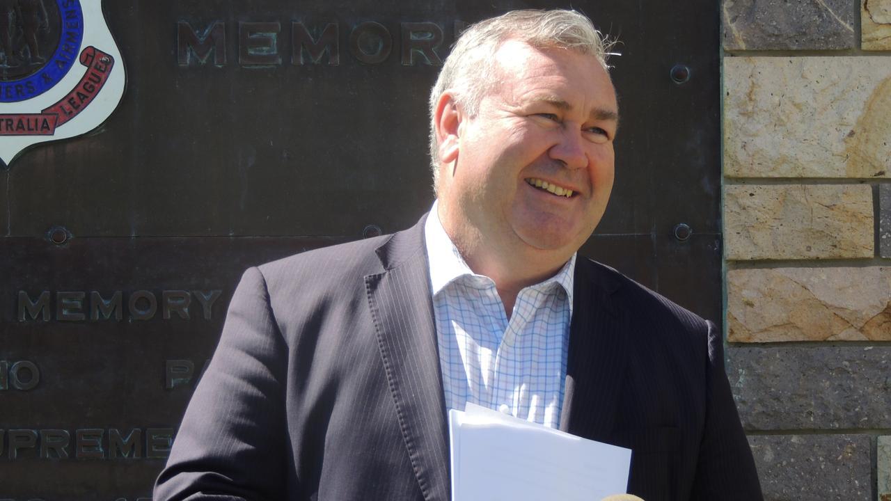 EYES ON THE SKY: Bundaberg Regional Council Mayor Jack Dempsey.