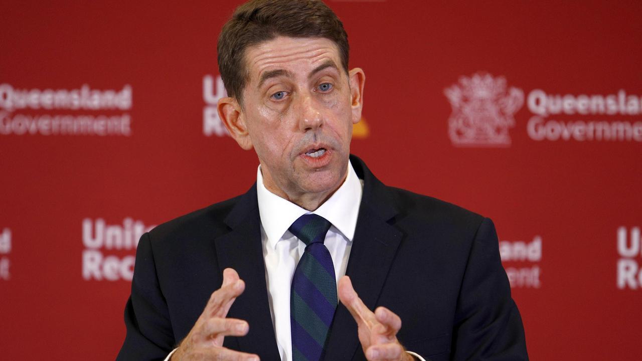 Treasurer Cameron Dick.