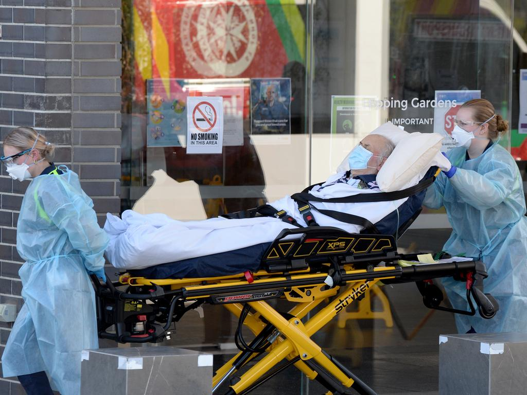 An outbreak at Epping Gardens Aged Care facility was one of the worst in Victoria, where more than 200 cases were recorded. Picture: Andrew Henshaw/NCA NewsWire