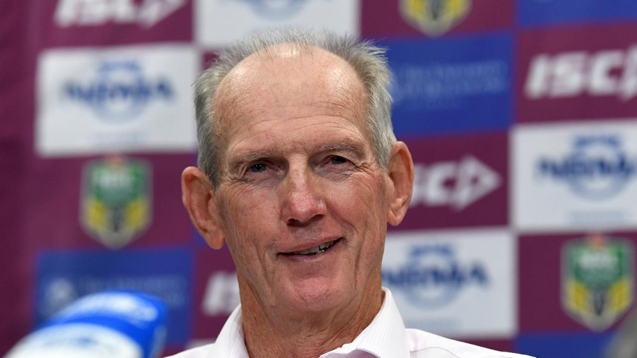Broncos super coach Wayne Bennett is open to the idea of returning to Red Hill for a third stint following the departure of Anthony Seibold.