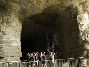 Slow progress on reopening Mount Morgan Fireclay Caverns