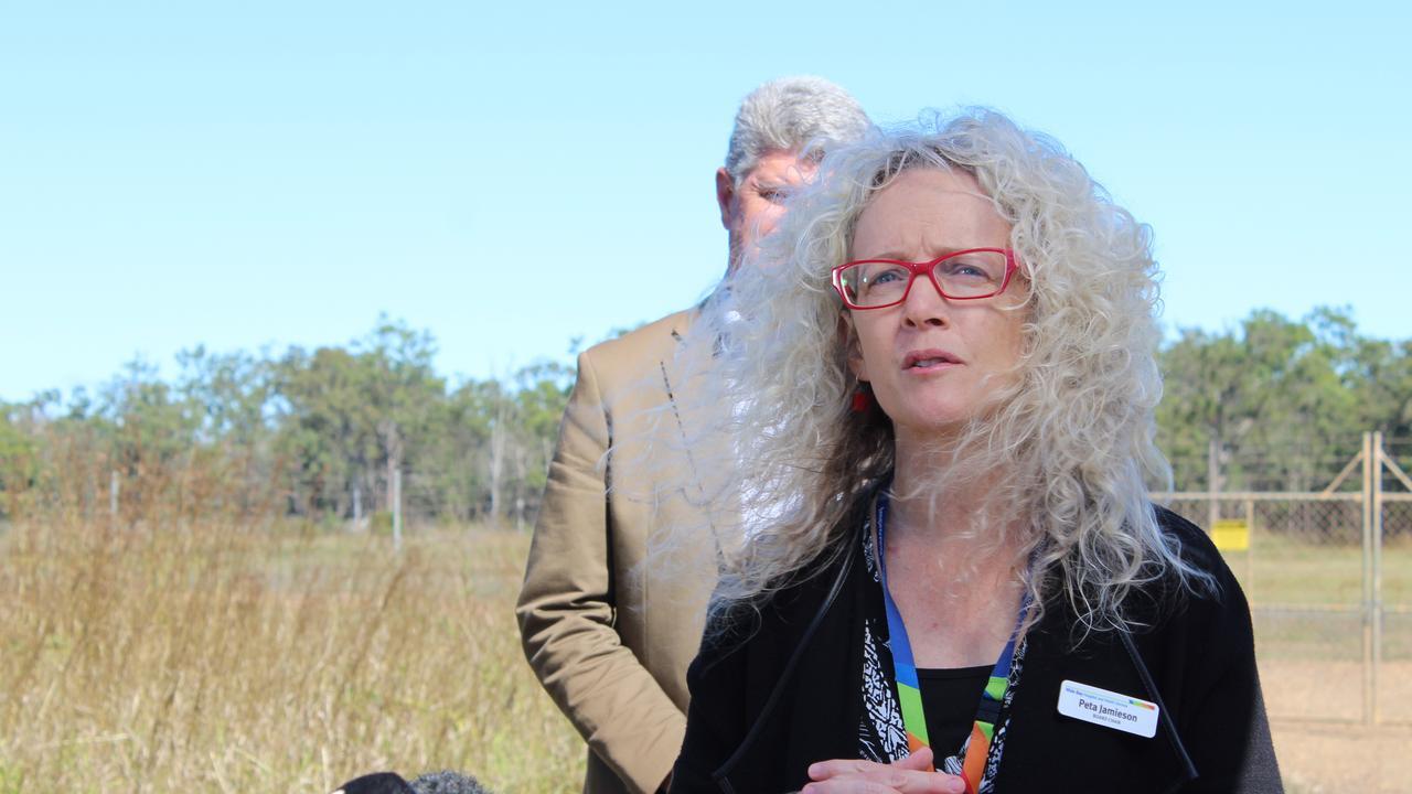 Wide Bay Hospital and Health Service Board Chair Peta Jamieson.