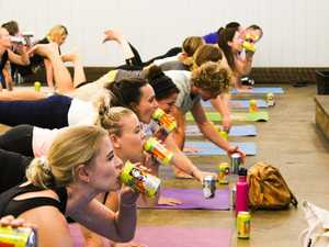 Beer and yoga: Unlikely combo to please punters