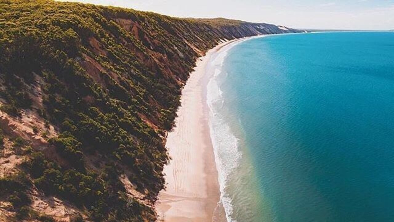 Life is certainly not crowded in Cooloola in this Epic Open Adventures shot.