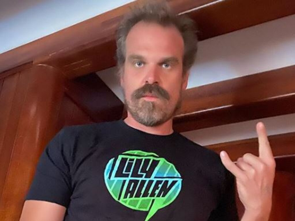 Stranger Things actor David Harbour. Picture: Instagram
