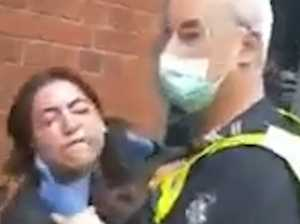 No action for cop who 'choked' woman with mask exemption