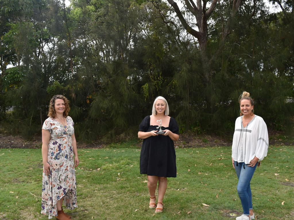 (L-R) Tweed residents Joey Juarez, Jordana Edwards and Louise Duke were all nominated for the AusMumpreneur Awards