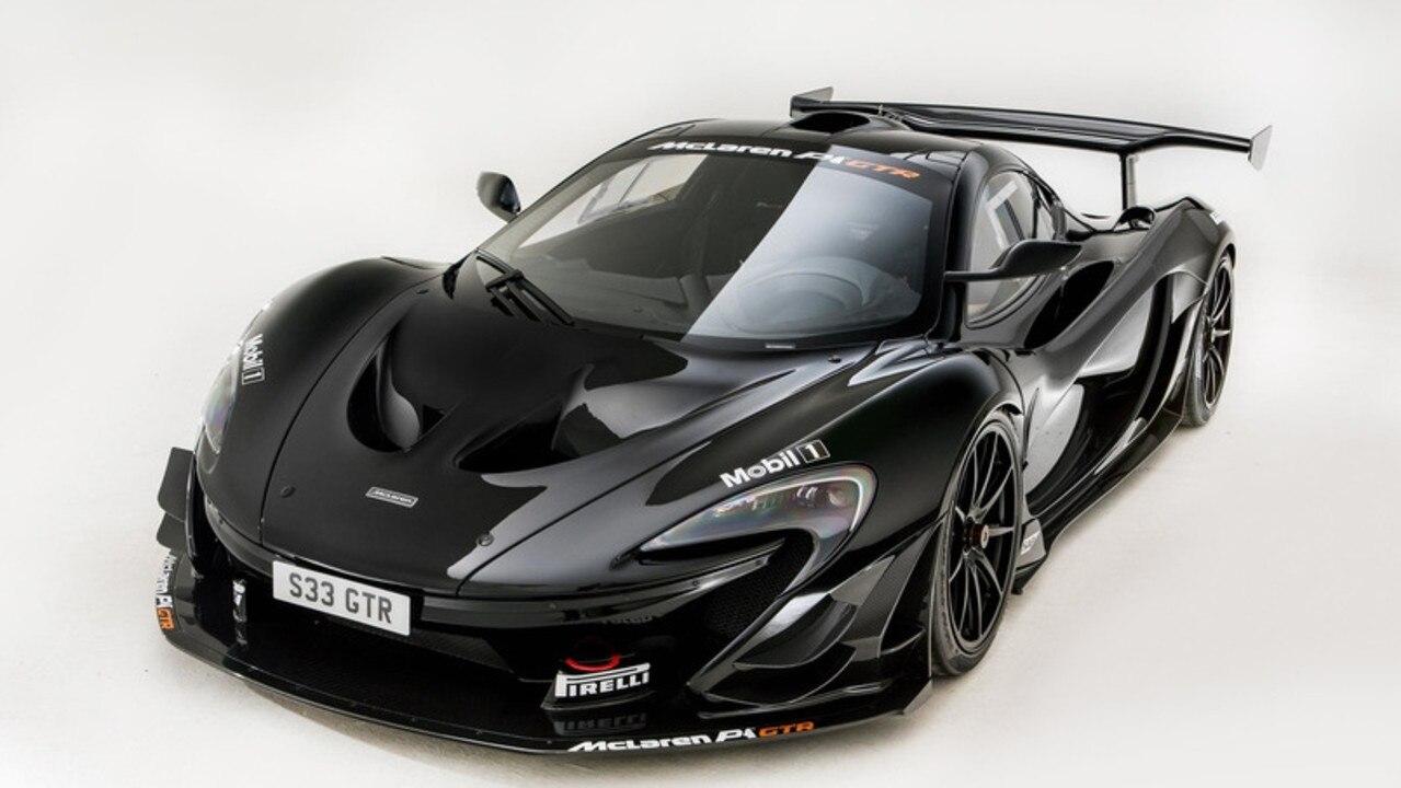 The McLaren P1 GTR.