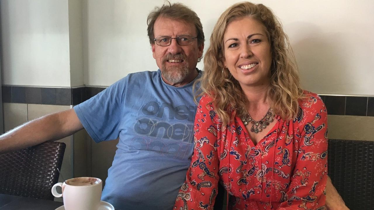 Tim 'Noe' Clark and Jenny Clark in 2017.
