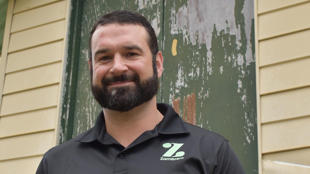 Zambrero Mackay franchise partner Peter Quinn. Picture: Heidi Petith