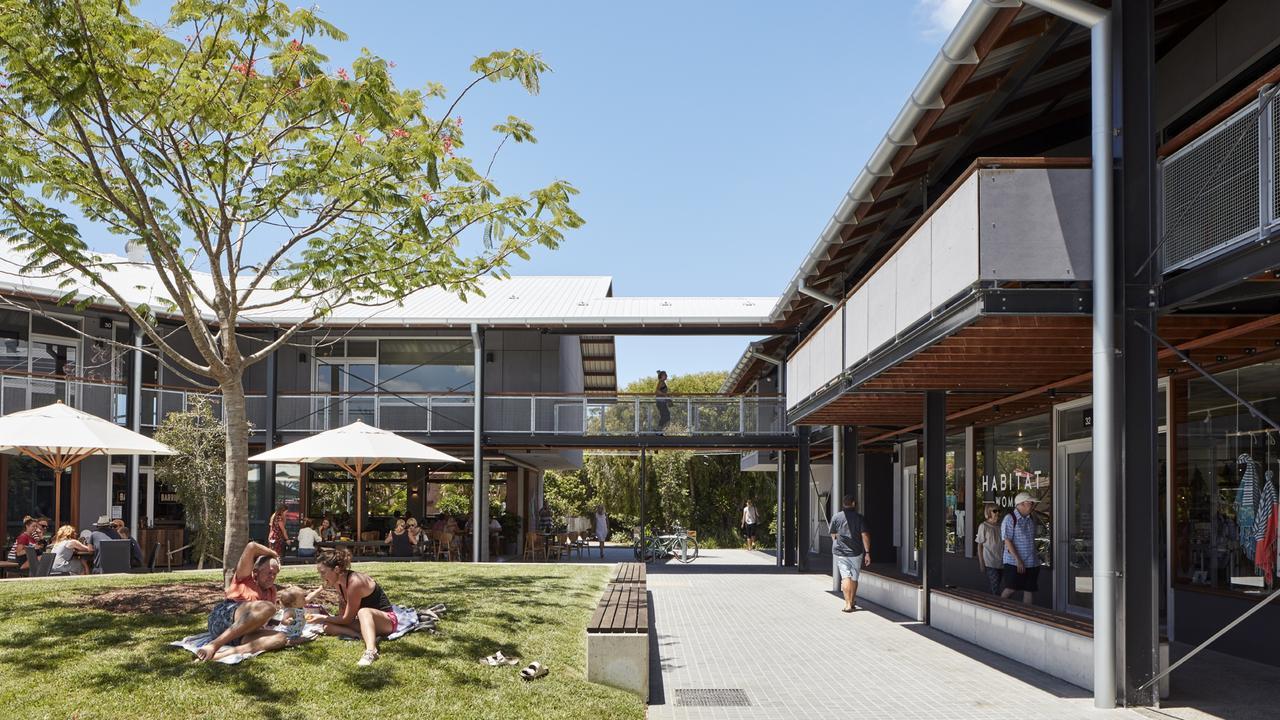 Habitat retail and lifestyle precinct at Byron Bay. Photo: Christopher Frederick Jones