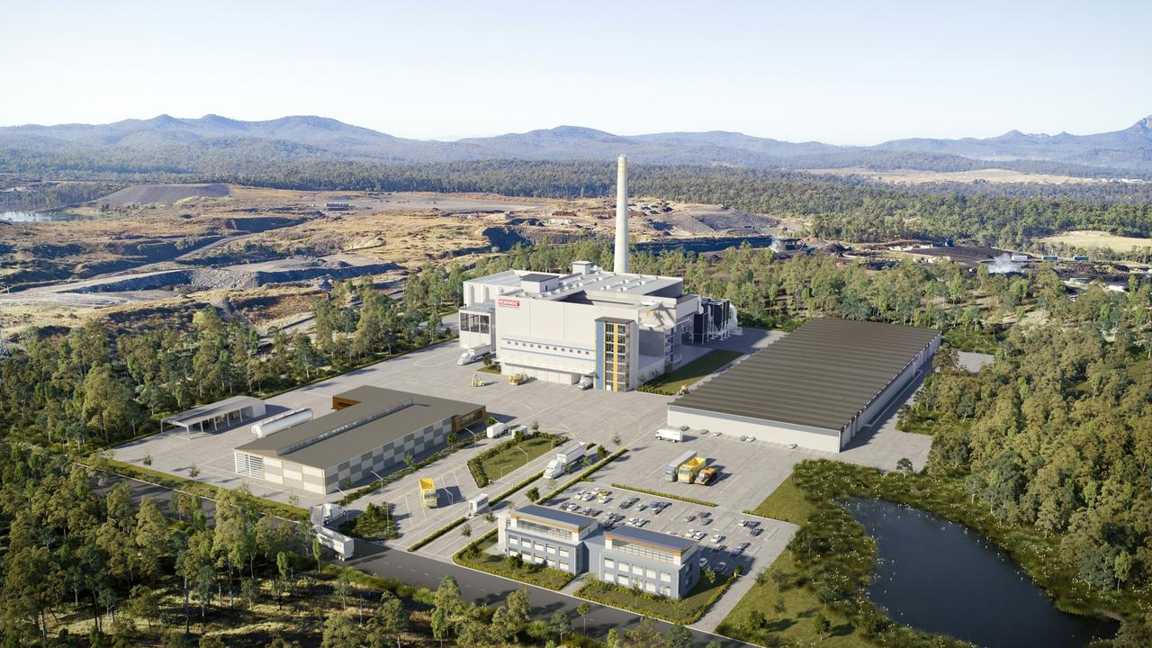 A $400 million waste to energy plant is proposed for Swanbank.