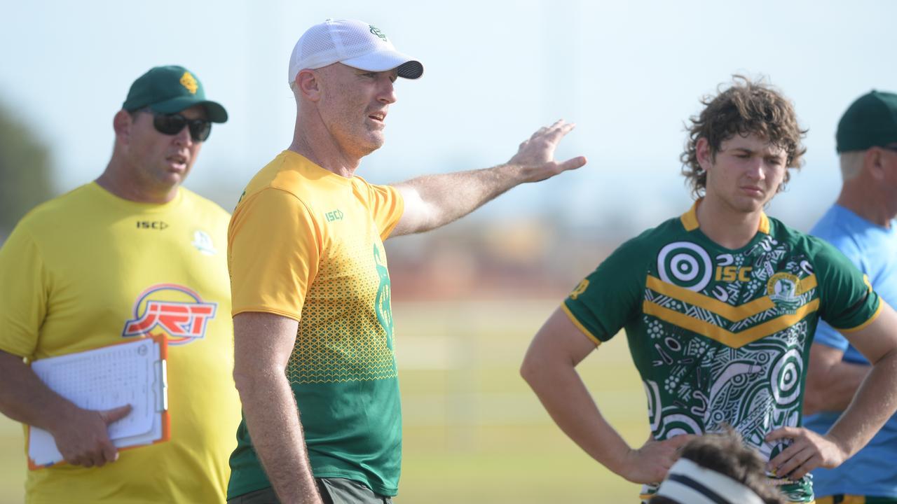 St Brendan's College coach Scott Minto tips Kirwan by 12. Photo: Callum Dick
