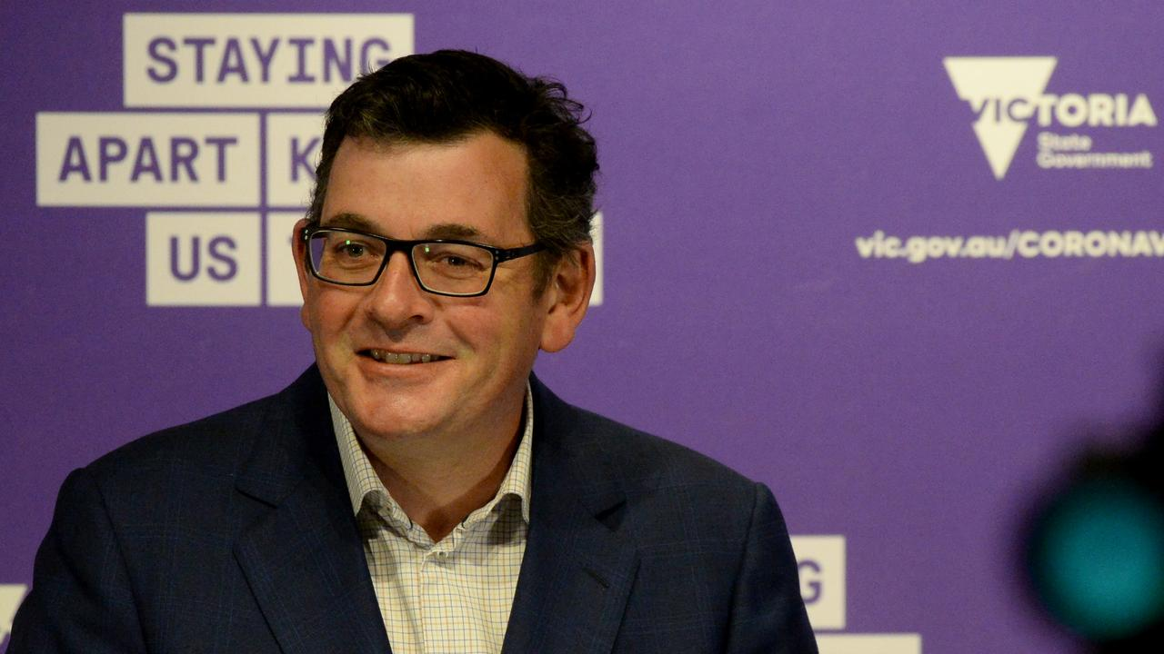 Victorian Premier Daniel Andrews. Picture: NCA NewsWire / Andrew Henshaw