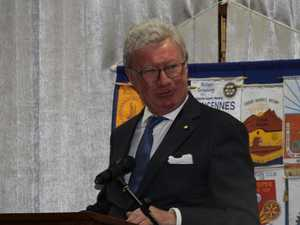 Qld Governor guest at Rotary 50th birthday dinner