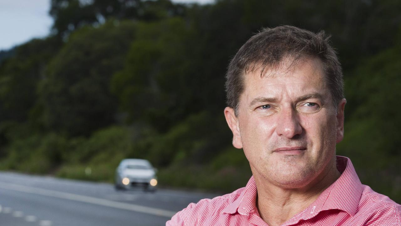 Wide Bay MP Llew O'Brien says a pattern is emerging over the State's inability to get funded Bruce Highway projects up and running. Photo Lachie Millard