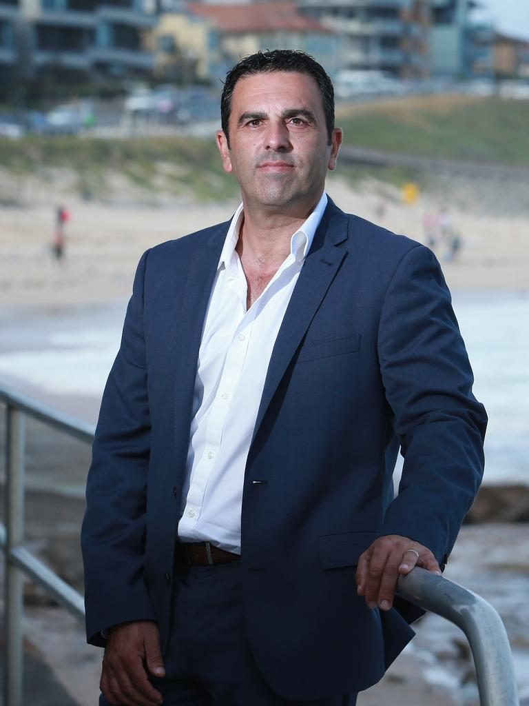 Mayor of Sutherland Shire Council Carmelo Pesce said if they have to close the beaches, they will. Picture: Britta Campion