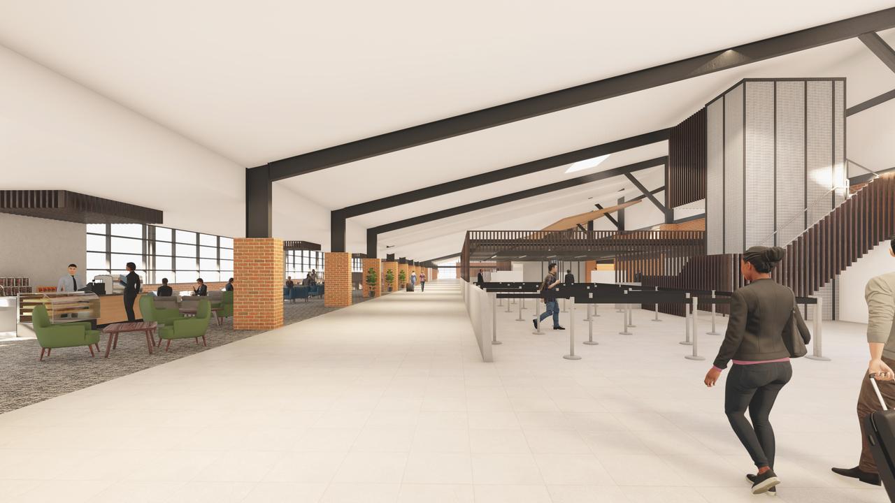 Concept designs for the Rockhampton Airport masterplan.