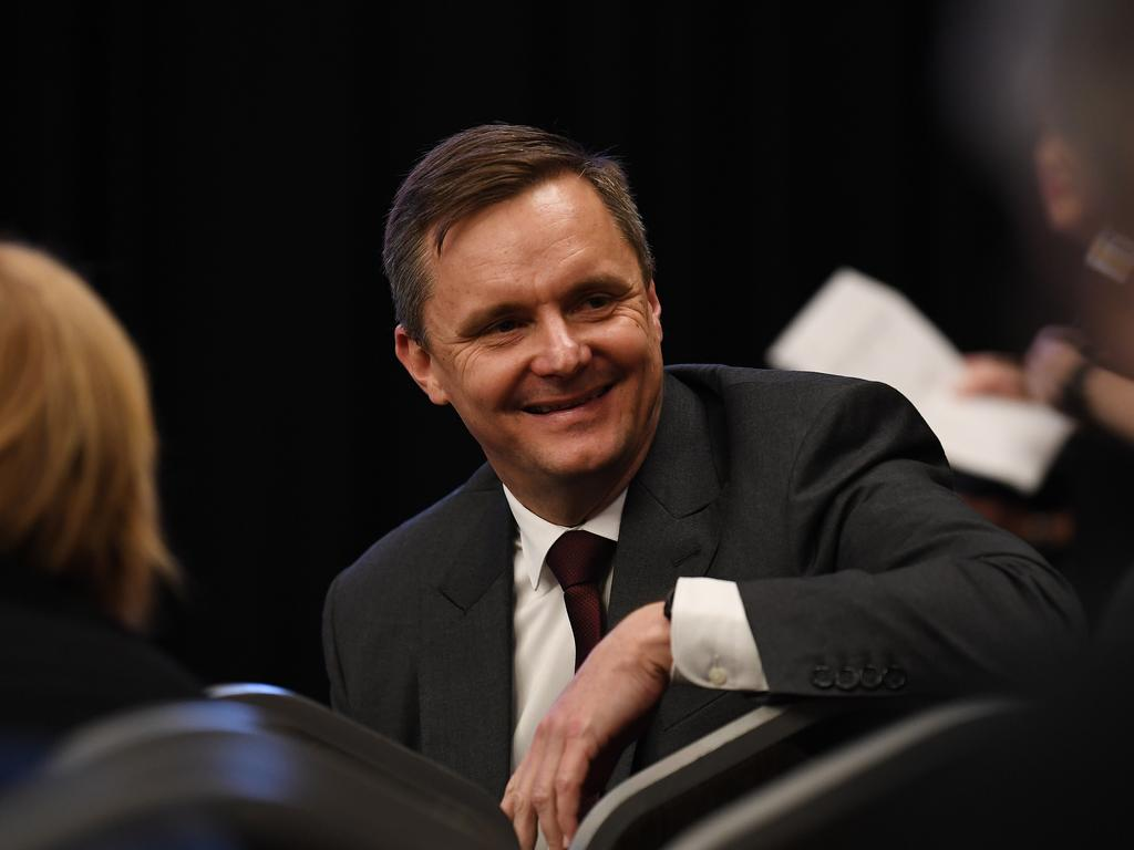 Suncorp CEO Steve Johnston will get a boost from the dividend paid by the company. (AAP Image/Dan Peled)
