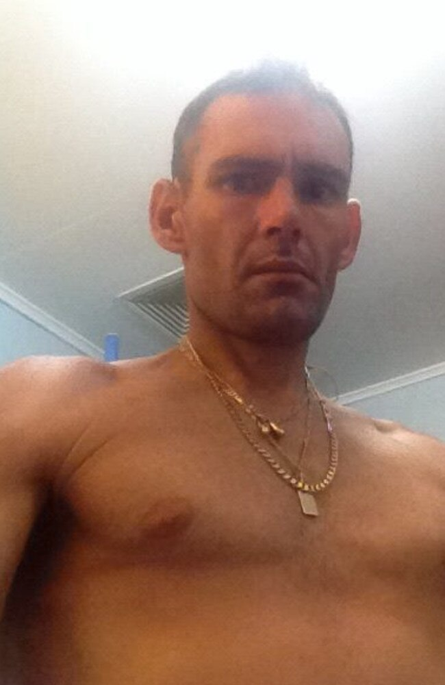 Clinton Pollock was shot in the chest outside his Deception Bay home on Father's Day, 2018.