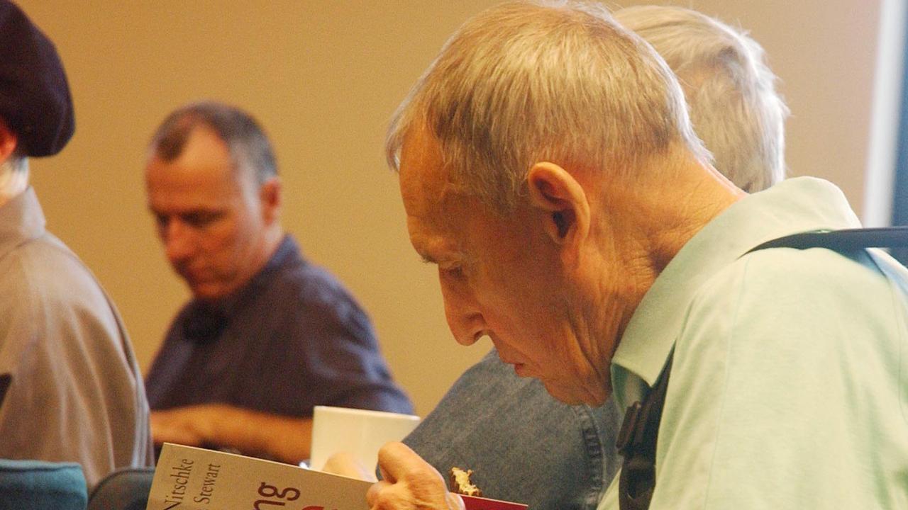 Generic photo of an elderly man. (AAP Image/Matthias Engesser) NO ARCHIVING