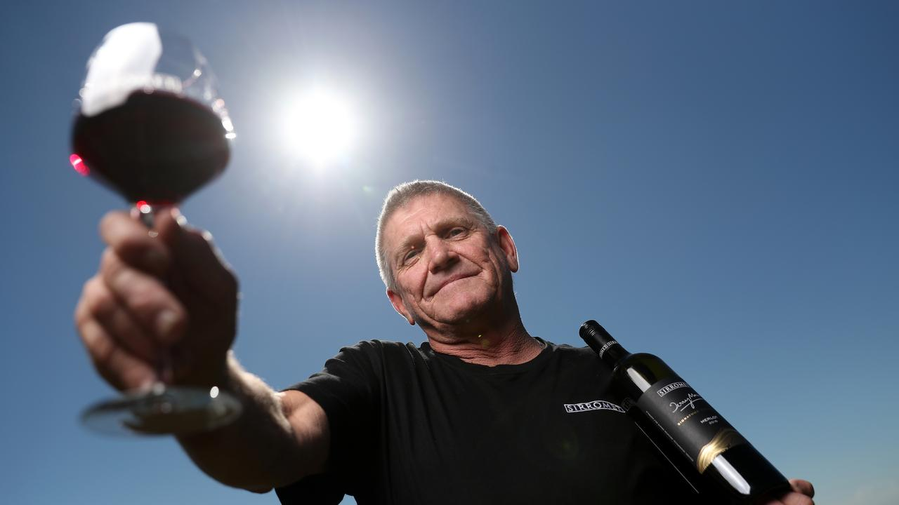 Chief winemaker Mike Hayes at Sirromet is focused finding varietals suited for the Granite Belt's climate. (Pic Peter Wallis)