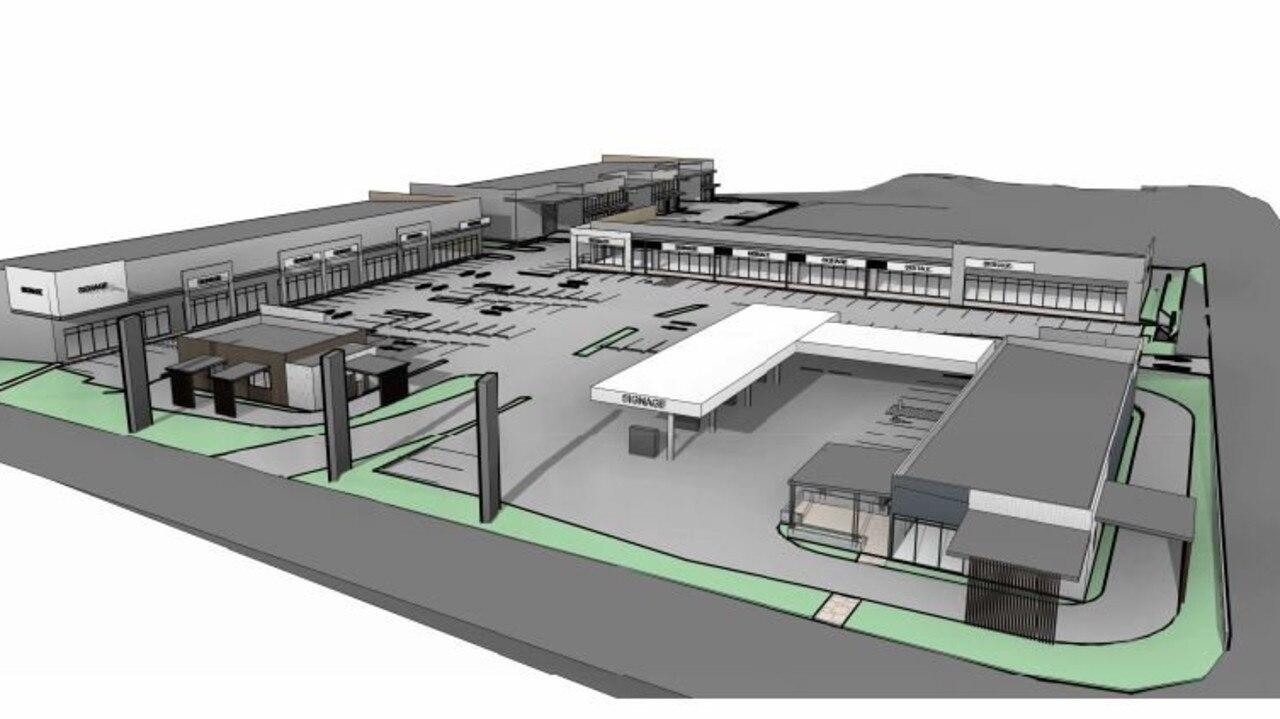 An artist impression of the proposed Northern Beaches Emporium.