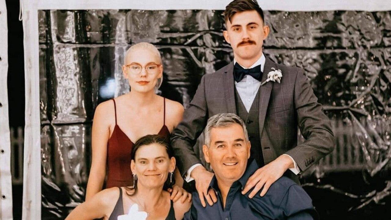 Judy Christian with husband Lucas and children Peta and Shaun.