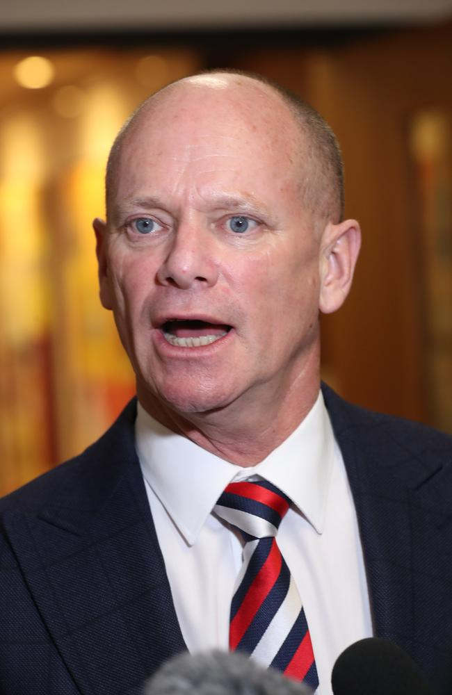 "Campbell Newman has responded to Jason Costigan's claims, hinting at the dumped MP's bizarre behaviour but saying he is ""mindful of (Mr Costigan's) privacy and unable to comment. Pic Annette Dew"