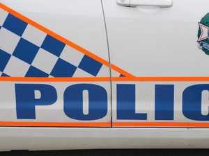 BREAKING: Rocky police car rammed by stolen Saab