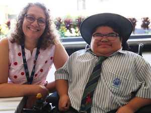 Student's brave battle inspires school community