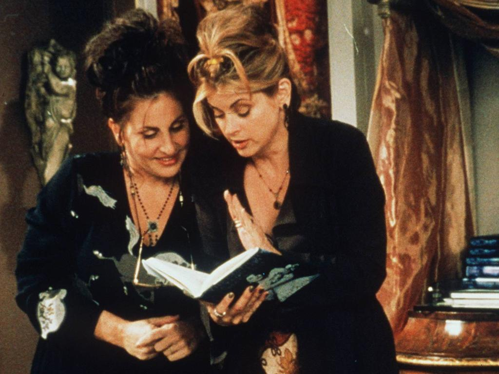 Kathy Najimy and Kirstie Alley in Veronica's Closet.