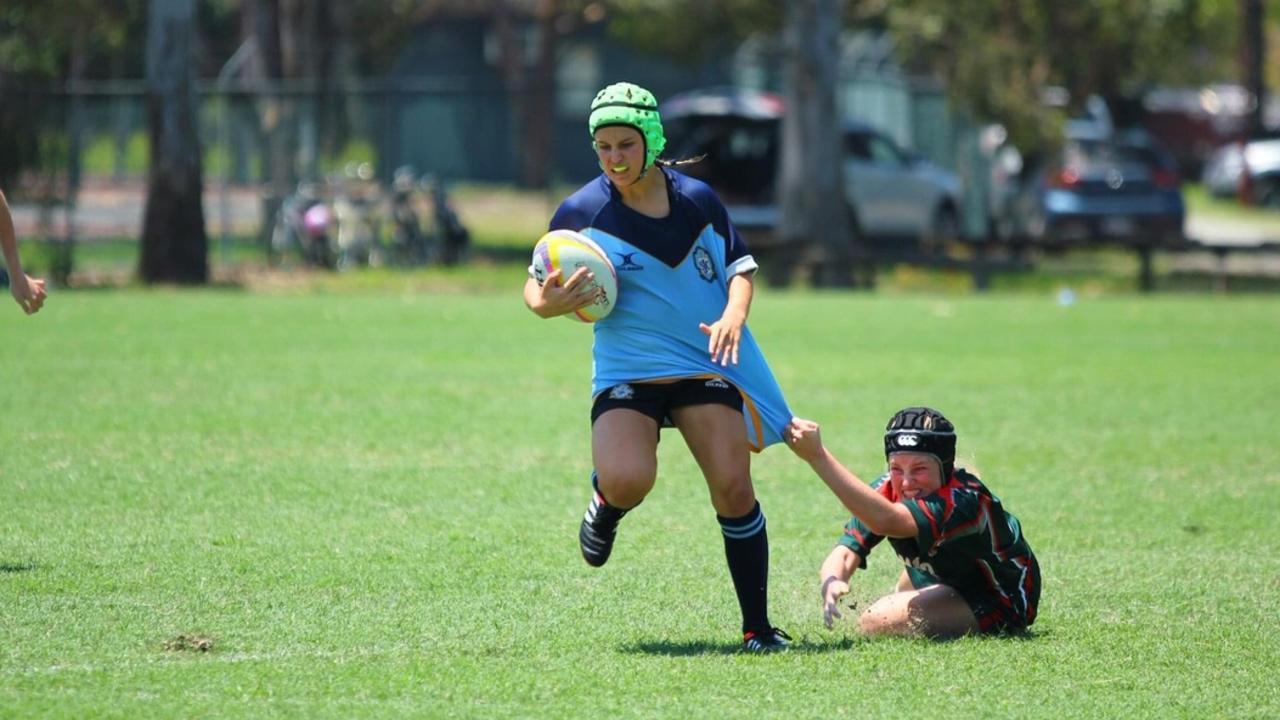 St John's College player Kiera Dunbar
